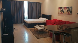 Studio / Furnished & Serviced / Parking
